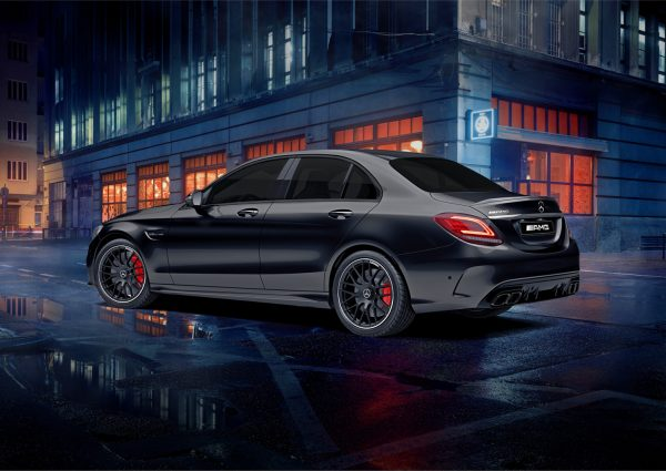 MS Limited Edition Draw 209 Mercedes-AMG Side View