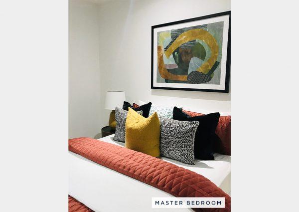 RSL Art Union Draw 380 Melbourne Master Bedroom