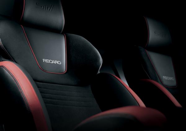 Subaru WRX RECARO sports bucket seats