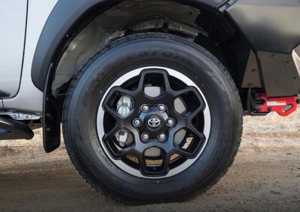 Toyota Hilux Rugged X 17 Inch Alloy Wheels