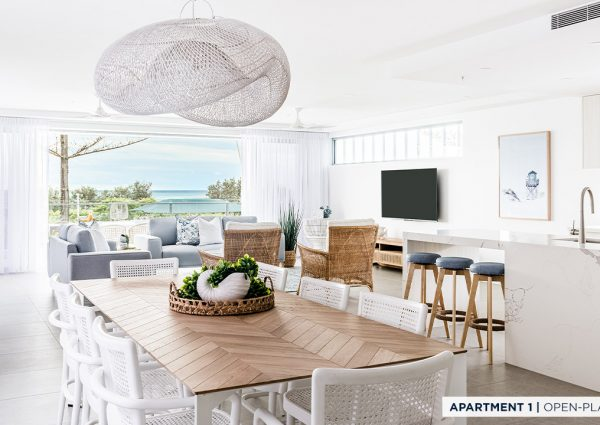 million dollar apartment open living