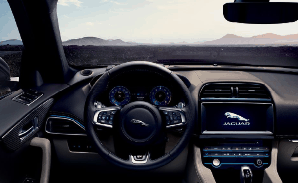 yourtown draw 1122 Jaguar F Pace Dashboard