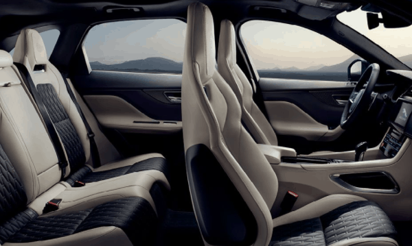 yourtown draw 1122 Jaguar F Pace Interior