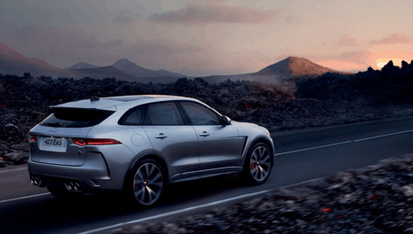 yourtown draw 1122 Jaguar F Pace Side View