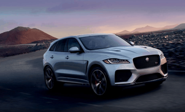 yourtown draw 1122 Jaguar F Pace on Road