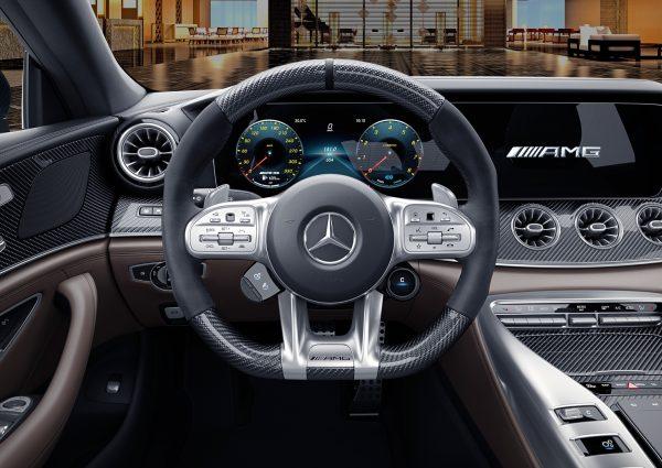 MS Club Draw 59 AMG GT53 Steering Wheel