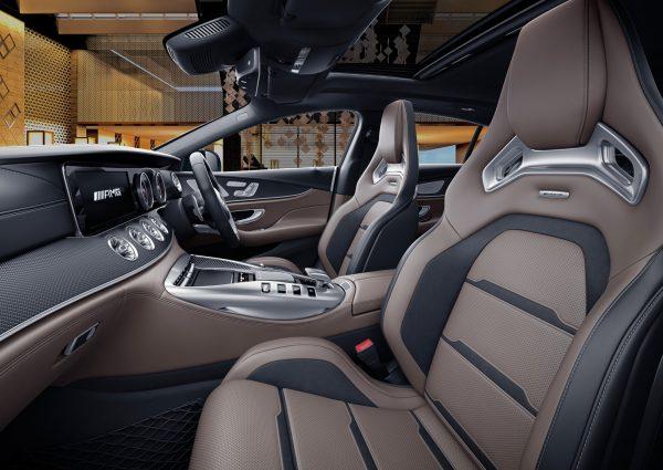 MS Club Draw 59 Mercedes AMG GT53 Interior View