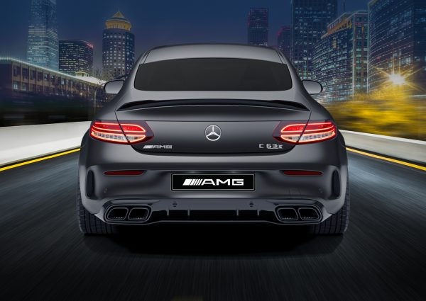 MS Limited Edition Draw 211 AMG C63 S Coupe Back View