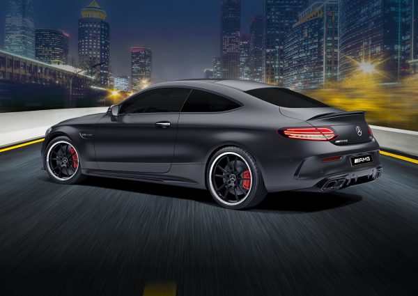 MS Limited Edition Draw 211 AMG C63 S Coupe Side View