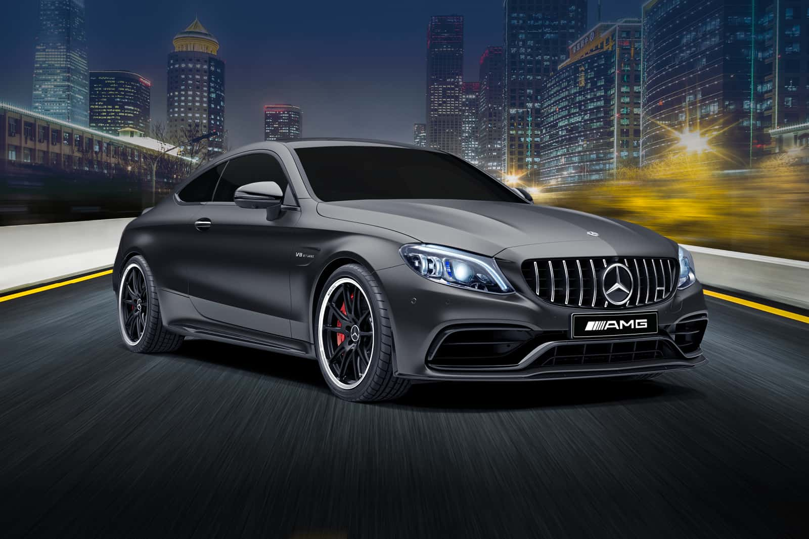 MS Limited Edition Draw 211 AMG C63 S Coupe