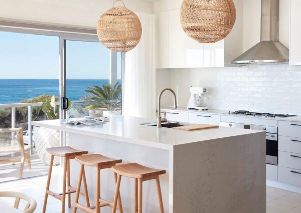 sydney beach house kitchen
