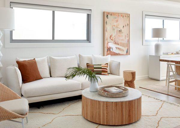 sydney beach house living room