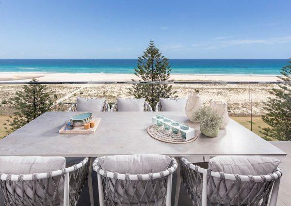gold coast beachfront penthouse terrace