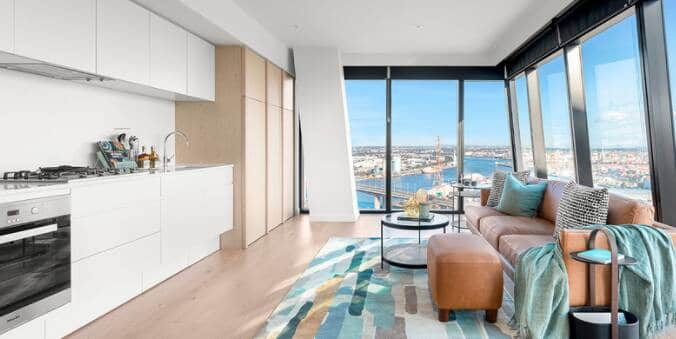 rsl-art-union-draw-390-docklands-victoria-kitchen-living-room